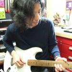 Fender Japan ストラトキャスター フレットすり合わせ