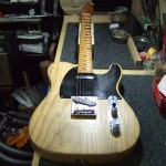 Fender テレキャスター リフレット&レリック加工