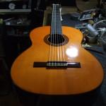 Suzuki C-200 ガットギター サドル&ナット作成