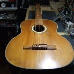 YAMAHA ダイナミックギター S-20 すり合わせ&オクターブチューニングブリッジ加工