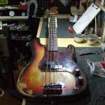 Fender USA '66 Precision Bass  すり合わせ&メンテナンス