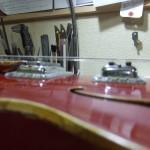 Gretsch Monkees Rock`n`Roll Model 60年代製 バインディング補修&ブレーシング剥がれ&ペグ交換