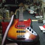 Fender Japan JazzBass アッセンブリー交換
