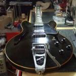 Gibson ES-335 77年製 フレットすり合わせ