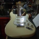 Fender Stratocaster フレットすり合わせ