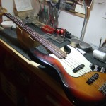 Fender USA Jazz Bass 2000年製 フレットすり合わせ&セットアップ