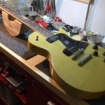 Gibson Les Paul Special TV Yellow ネック折れ&スイッチ接点不良