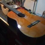 Ecole Guitare E300 ペグ修正・ナット&サドル弦高調整