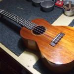 ilikai ukulele コンサート 弦高調整・LOW-G調整