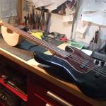 Fender USA Jazz Bass 弦高下げ(1弦12F=1mm)セットアップ